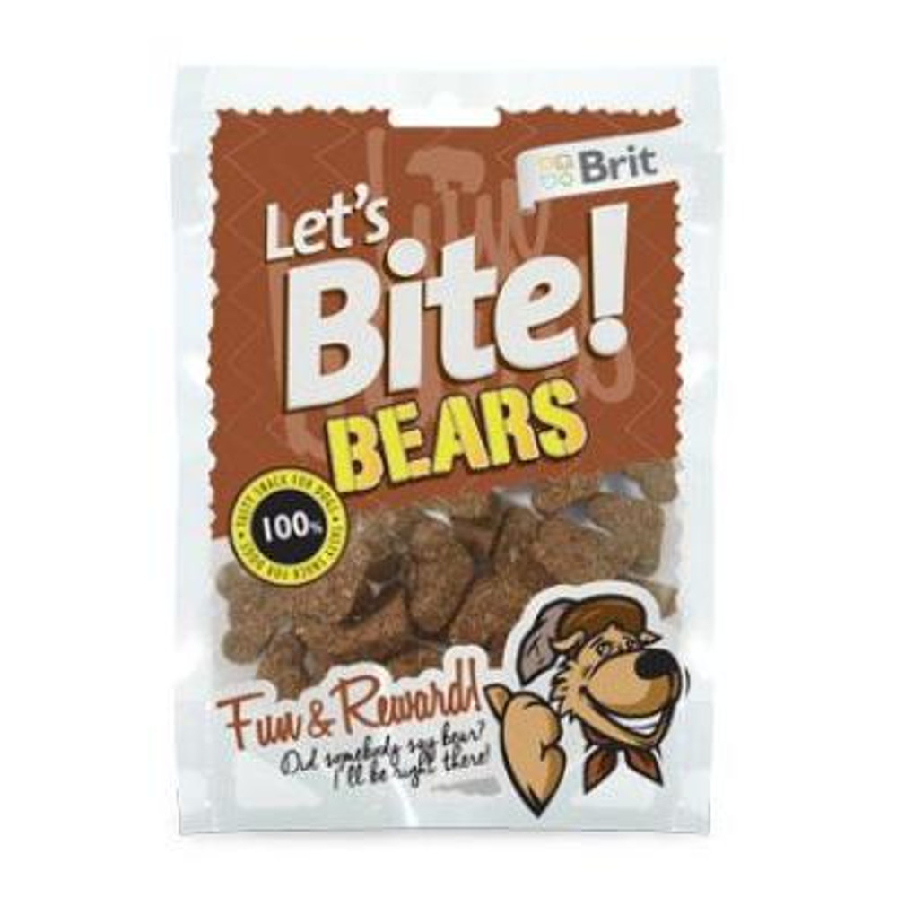 "BRIT pochoutka Let""s Bite Bears 150 g NEW"