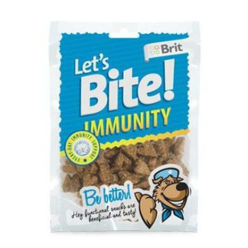 "BRIT pochoutka Let""s Bite Immunity 150 g NEW"
