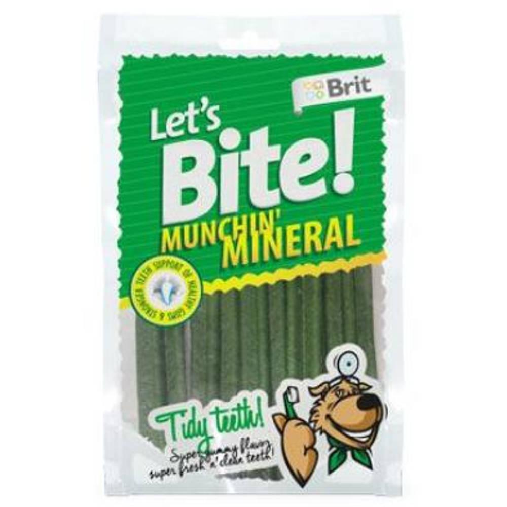 "BRIT pochoutka Let""s Bite Munchin"" Mineral 105 g NEW"