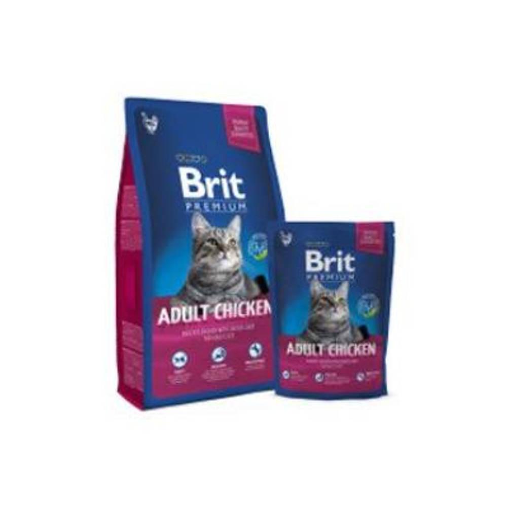 BRIT Premium Cat Adult Chicken 1,5 kg NEW