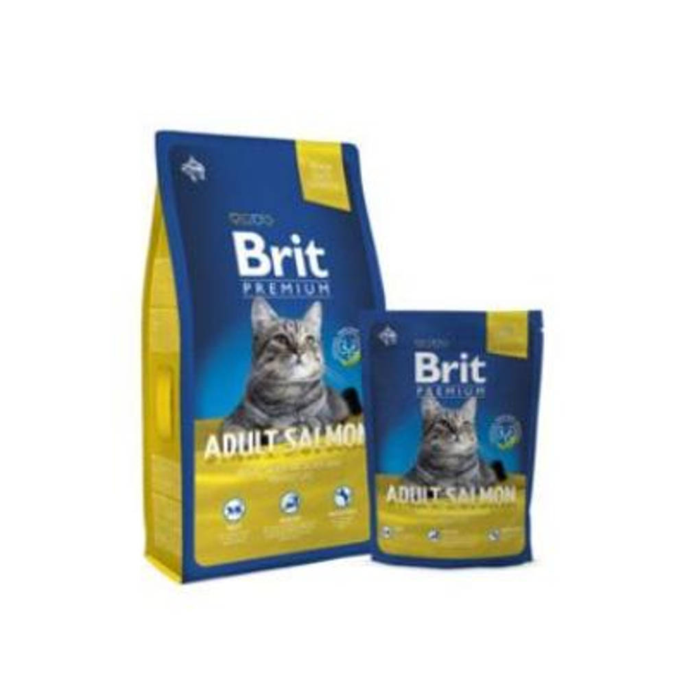 BRIT Premium Cat Adult Salmon 300 g NEW