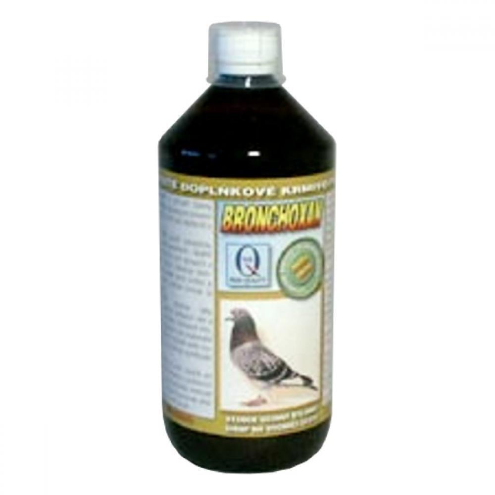 Aquamid Bronchoxan pro holuby bylinný sirup 1l