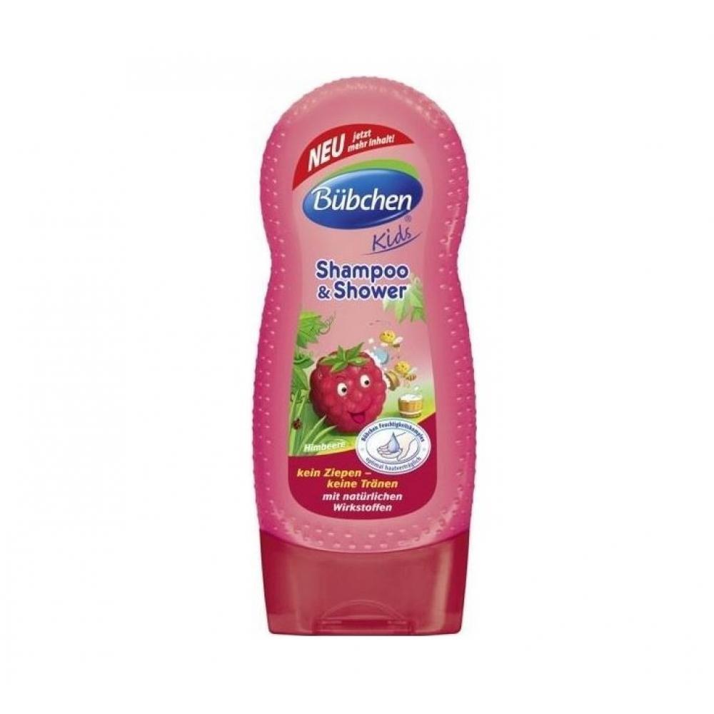 BÜBCHEN šampon a sprchový gel pro děti malina 230 ml