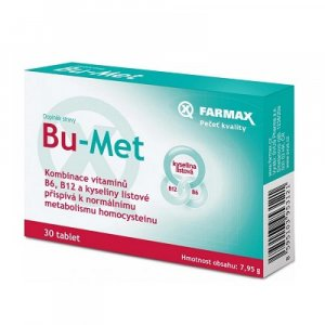 FARMAX Bu–Met 30 tablet