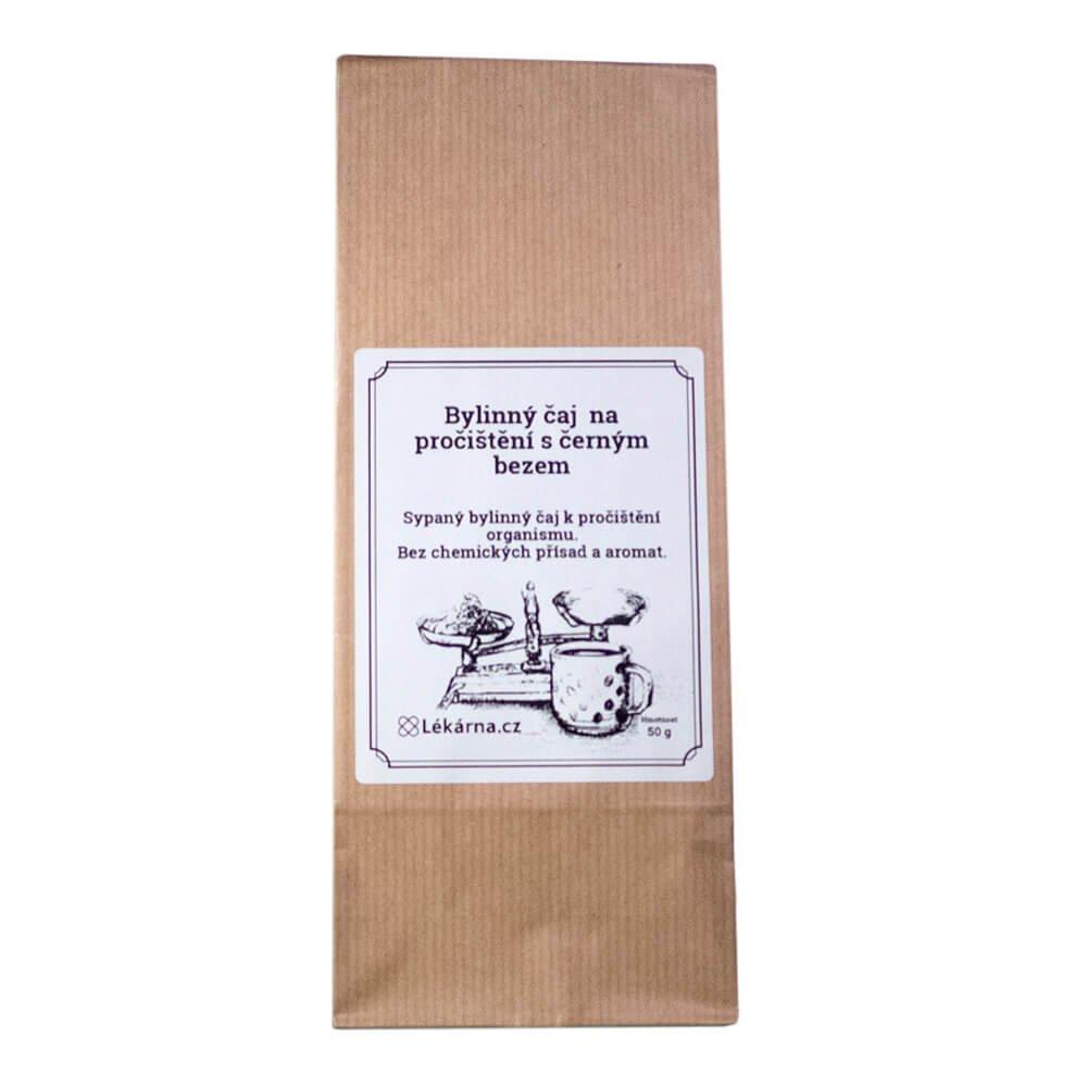Bylinný čaj na pročištění s černým bezem od LÉKÁRNA.CZ 50 g