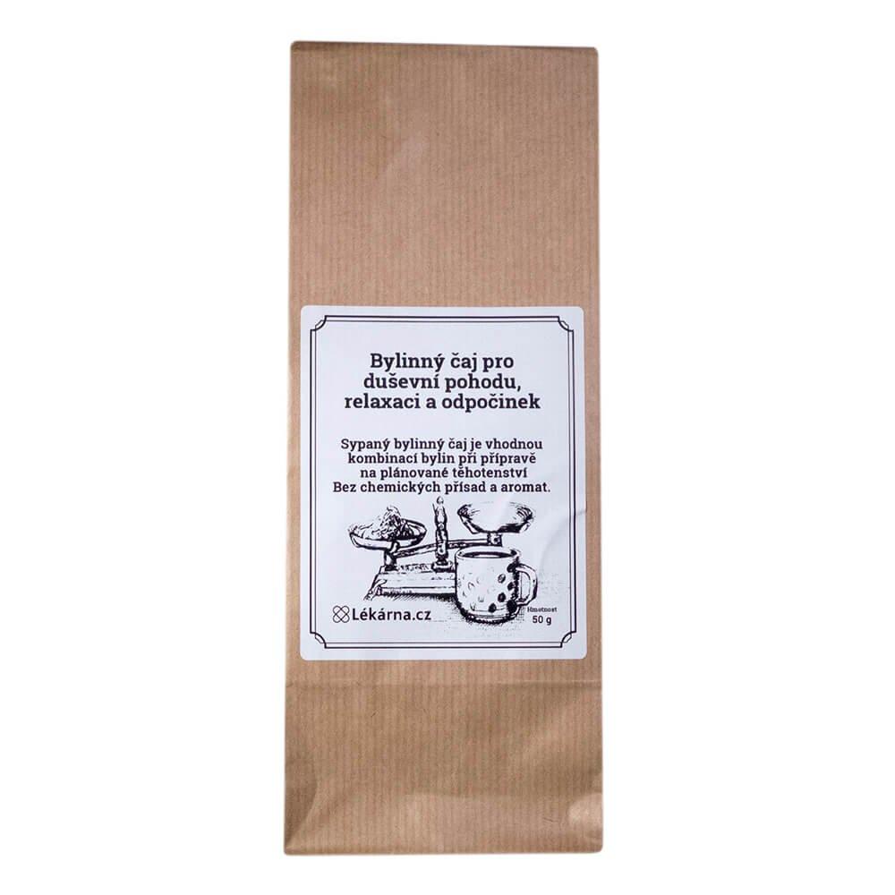 Čaj na podporu otěhotnění LÉKÁRNA.CZ 50 g