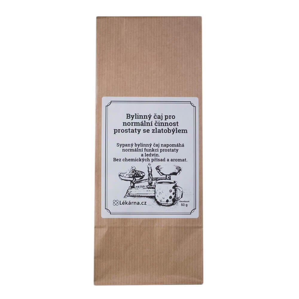 Bylinný čaj pro normální činnost prostaty se zlatobýlem od LÉKARNA.CZ 50 g