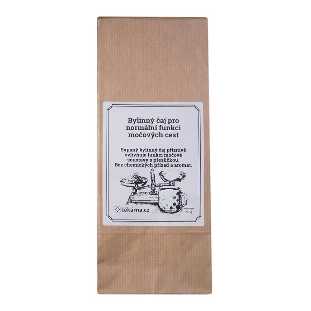 Bylinný čaj pro normální funkci močových cest s přesličkou od LÉKÁRNA.CZ 50 g