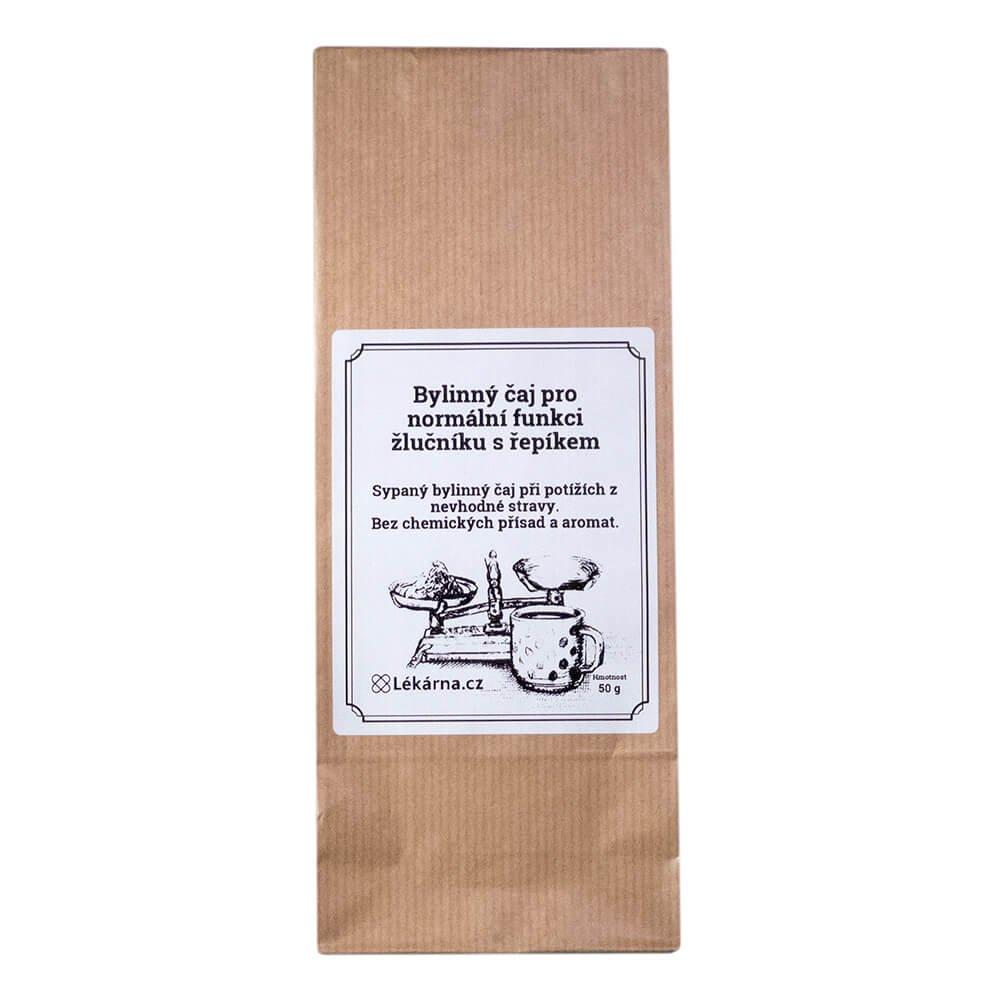 Bylinný čaj pro normální funkci žlučníku s řepíkem od LÉKÁRNA.CZ 50 g