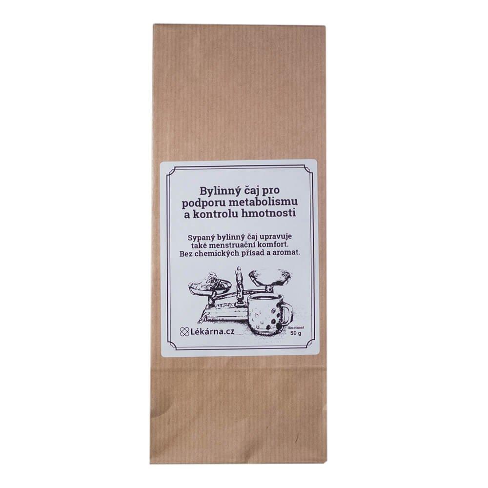 Bylinný čaj pro podporu metabolismu a kontrolu hmotnosti od LÉKÁRNA.CZ 50 g