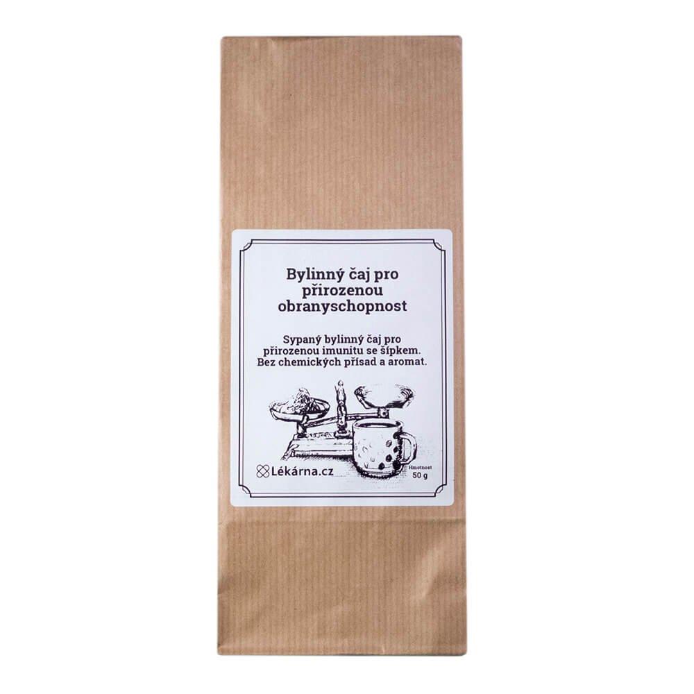 Bylinný čaj pro přirozenou obranyschopnost se šípkem od LÉKÁRNA.CZ 50 g