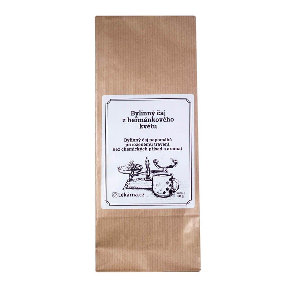 Bylinný čaj z heřmánkového květu od LÉKÁRNA.CZ 50 g