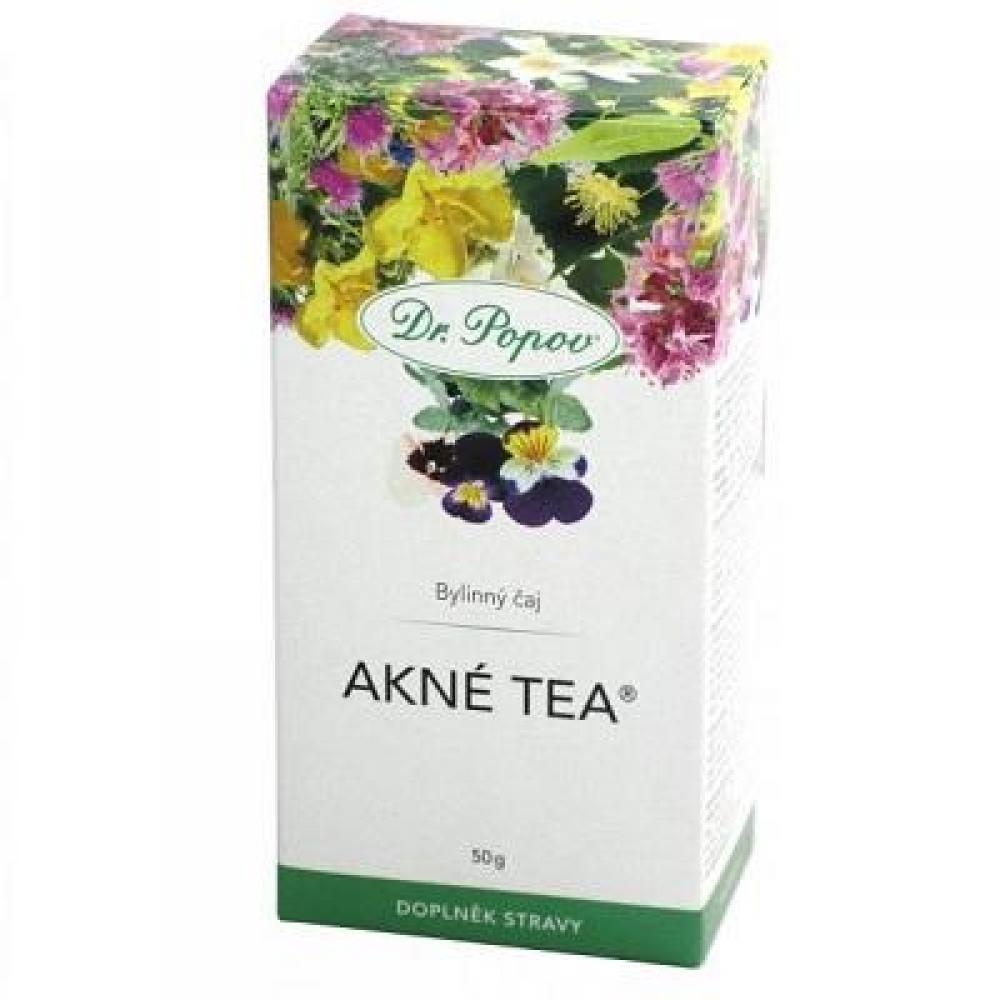 DR. POPOV Akné tea 50 g