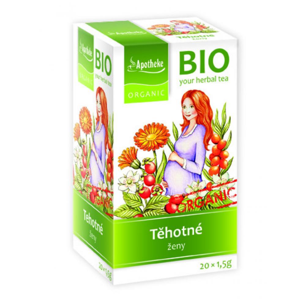 APOTHEKE Čaj pro těhotné ženy nálevové sáčky BIO 20x1.5g