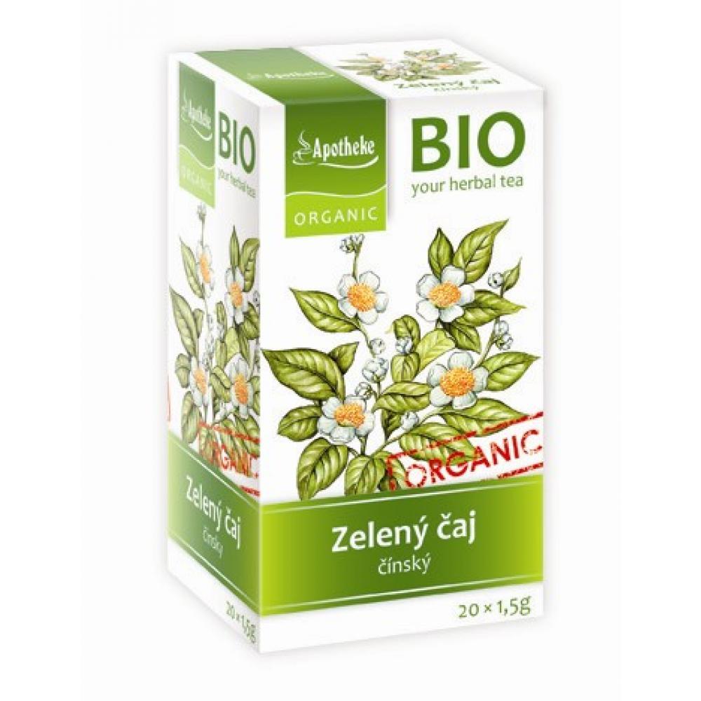 APOTHEKE Zelený čaj BIO 20x1.5g