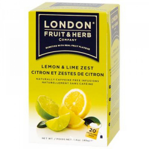 LONDON FRUIT & HERB Limetka s citrónem 20x2 g
