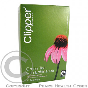 Čaj Clipper green tea with Echinacea 20 x 2 g