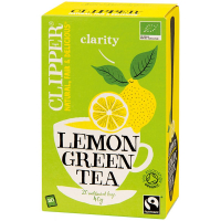 Čaj Clipper green tea with Lemon 20 x 2 g