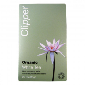 Čaj Clipper organic white tea 25 x 2 g