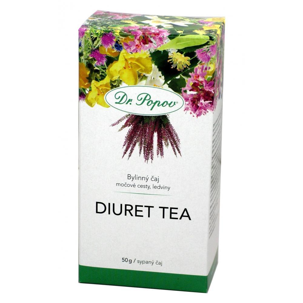DR. POPOV Diuret Bylinný sypaný čaj 50 g