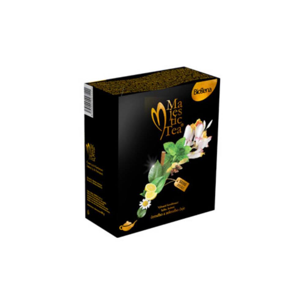 BIOGENA Majestic Duopack Černý a Zelený čaj 40 sáčků