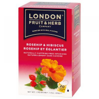 LONDON FRUIT & HERB Organic čaj Rosehip-šípkový 20x1 g