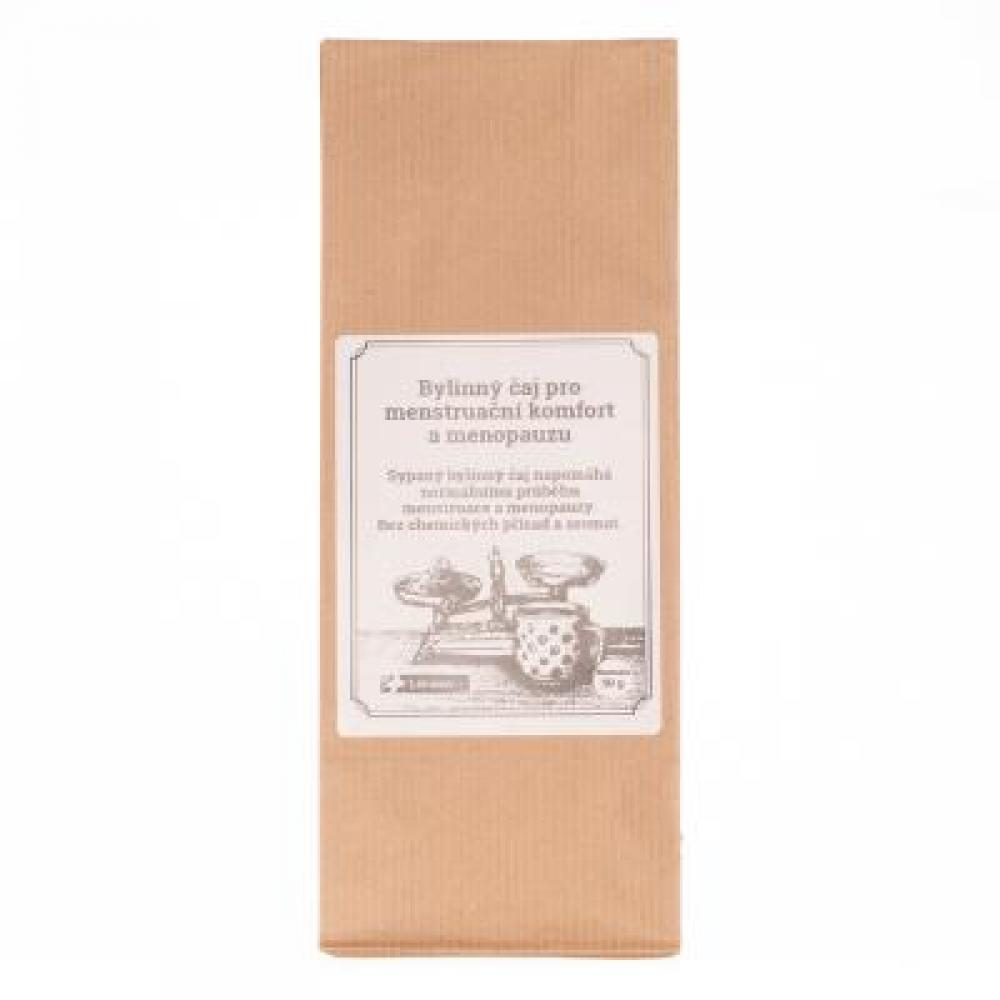 Bylinný čaj pro menstruační komfort a menopauzu s maliníkem od LÉKÁRNA.CZ 50 g
