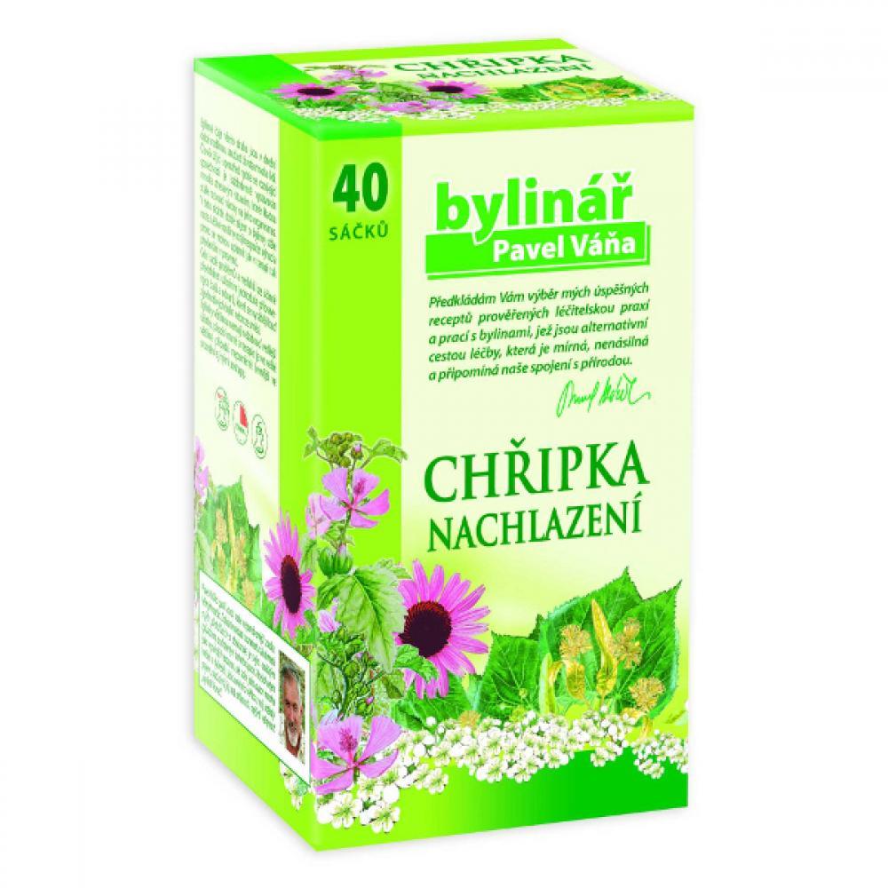 BYLINÁŘ Bylinný čaj chhřipka a nachlazení 40x1.6 g