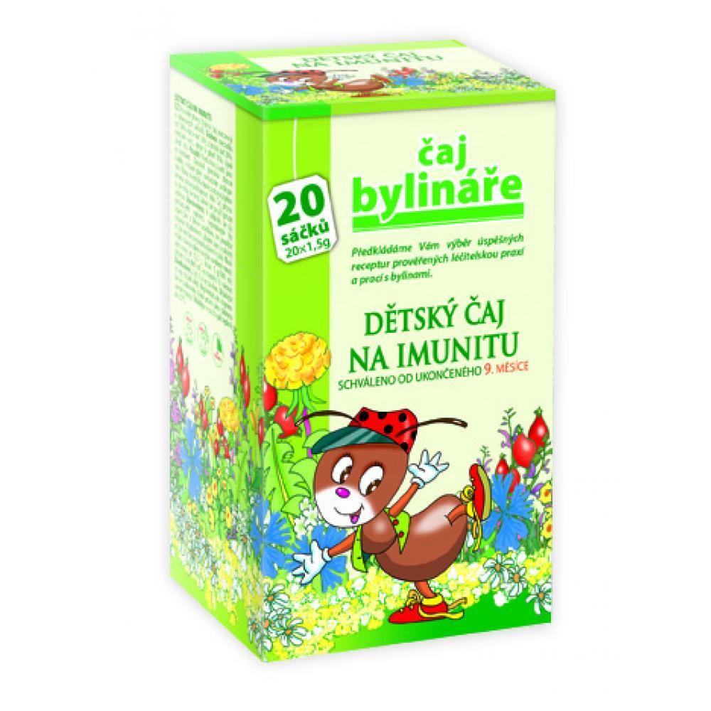 BYLINÁŘ Dětský čaj na imunitu 20x1.5 g