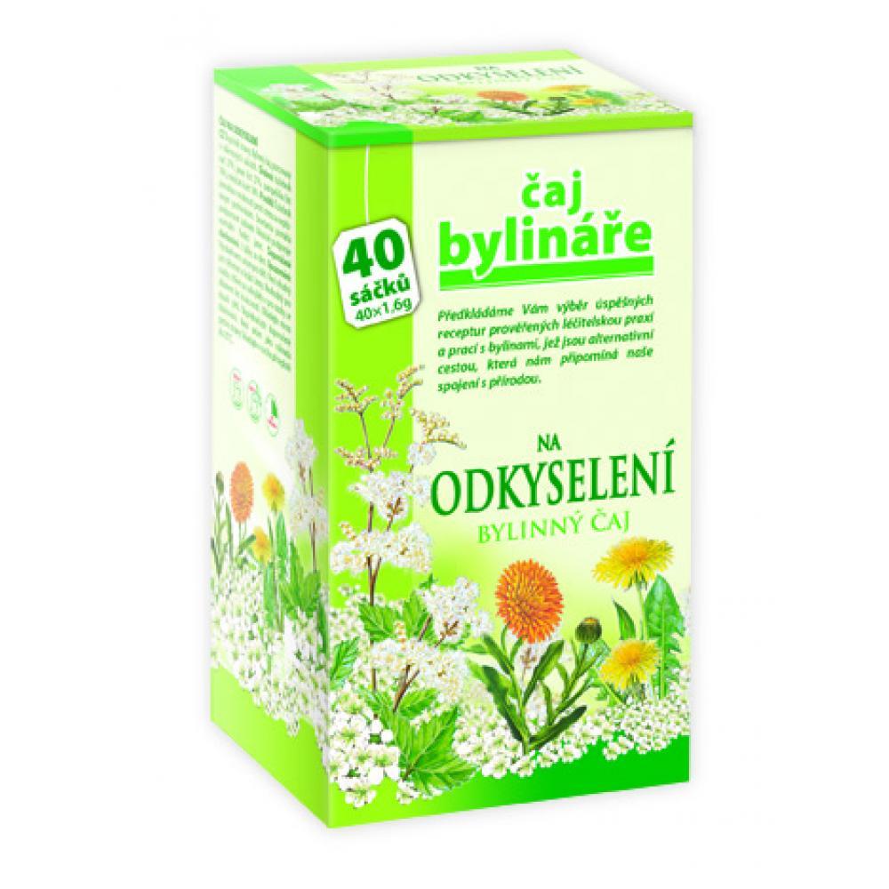 BYLINÁŘ Bylinný čaj na odkyselení organismu 40x1.6 g