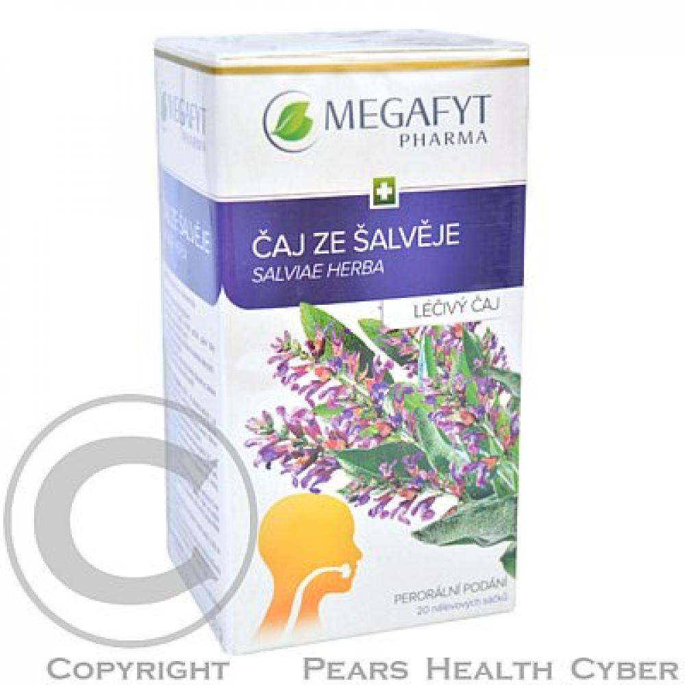 ČAJ ZE ŠALVĚJE 20X1.5GM Léčivý čaj