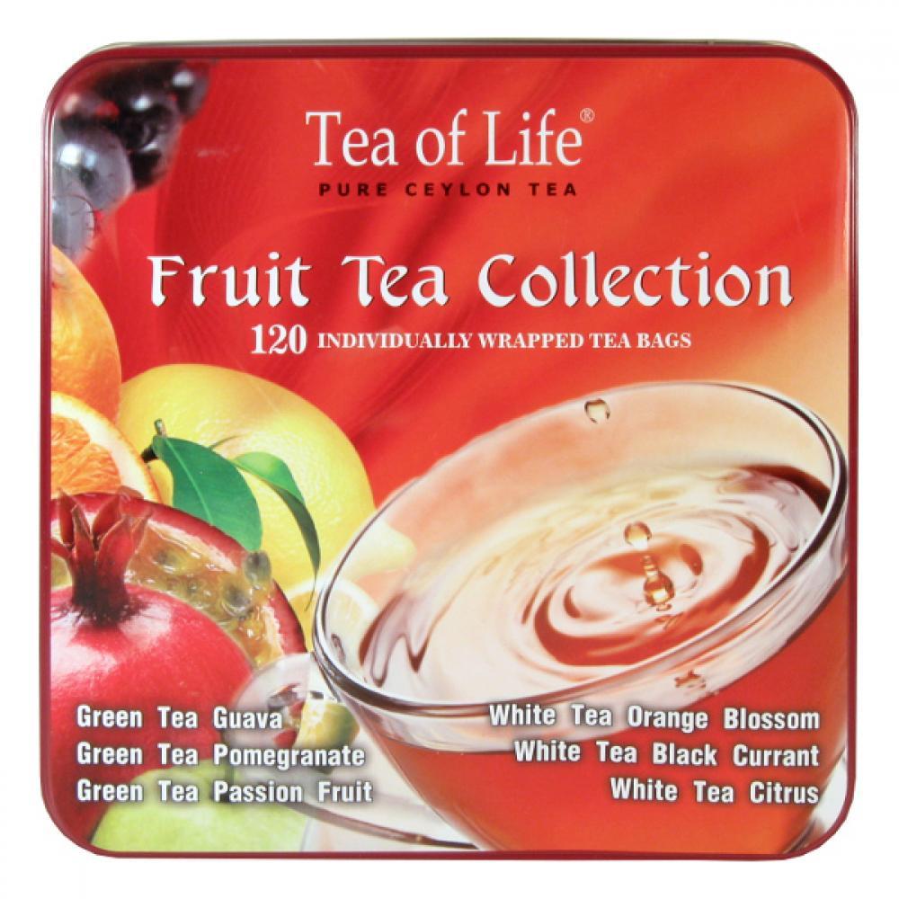 TEA OF LIFE Čaje Fruit Tea Collection 6x20 sáčků
