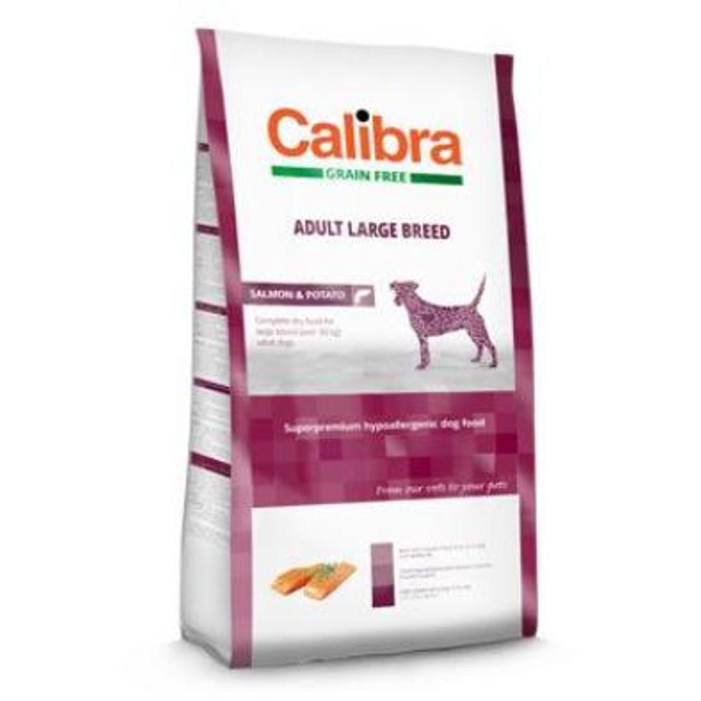 CALIBRA SUPERPREMIUM Dog GF Adult Large Breed Salmon 2 kg