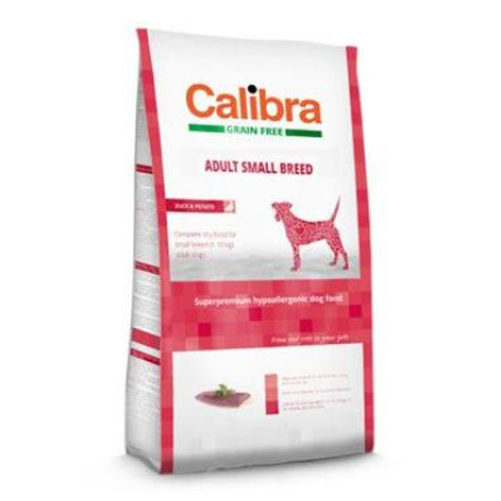 CALIBRA SUPERPREMIUM Dog GF Adult Small Breed Duck 2 kg
