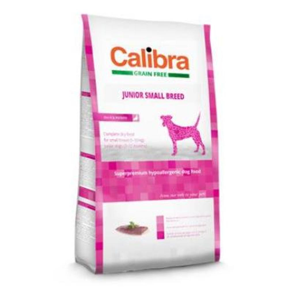 CALIBRA SUPERPREMIUM Dog GF Junior Small Breed Duck 2 kg