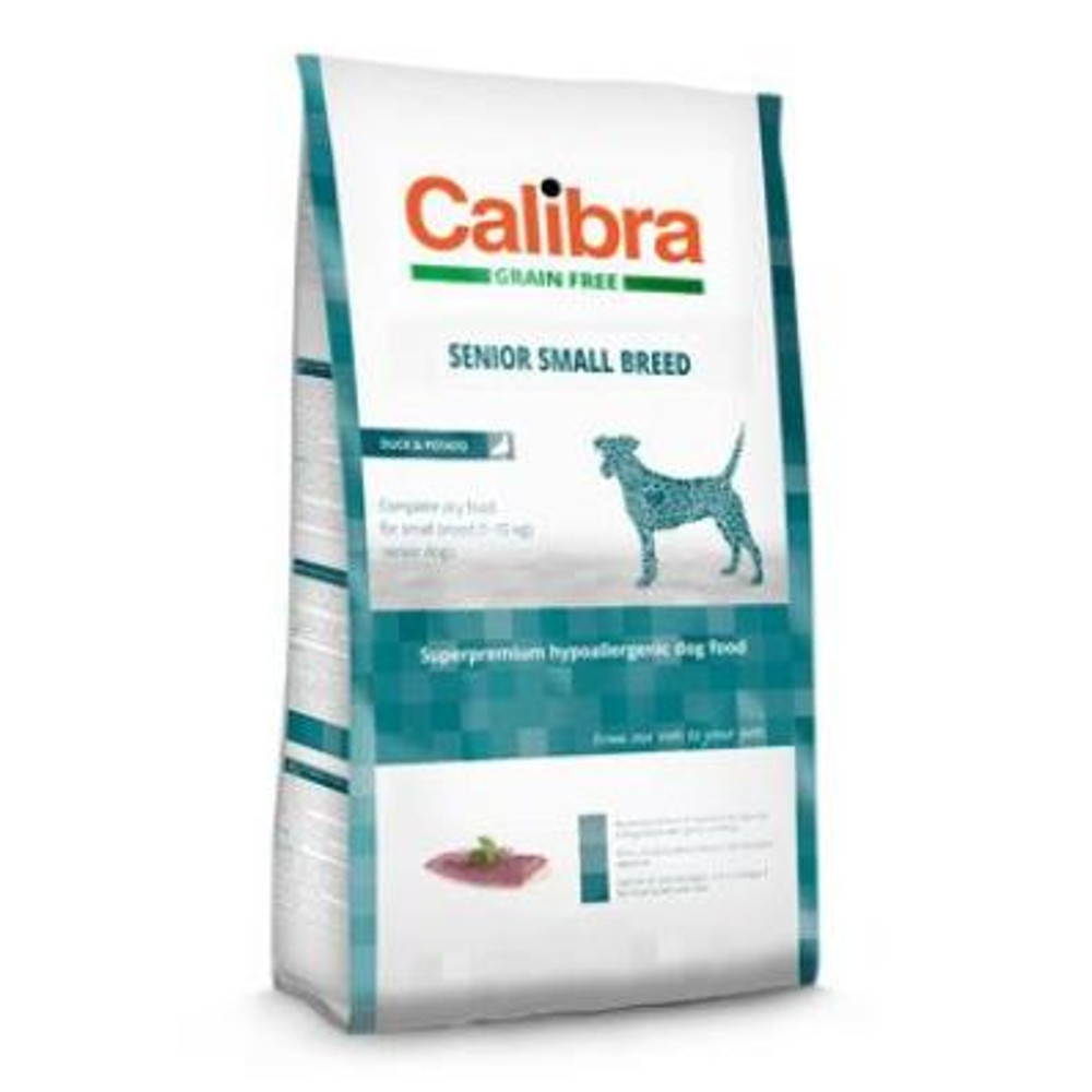 CALIBRA SUPERPREMIUM Dog GF Senior Small Breed Duck 2 kg