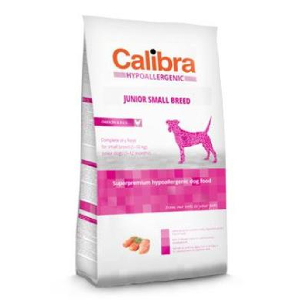 CALIBRA SUPERPREMIUM Dog HA Junior Small Breed Chicken 2 kg