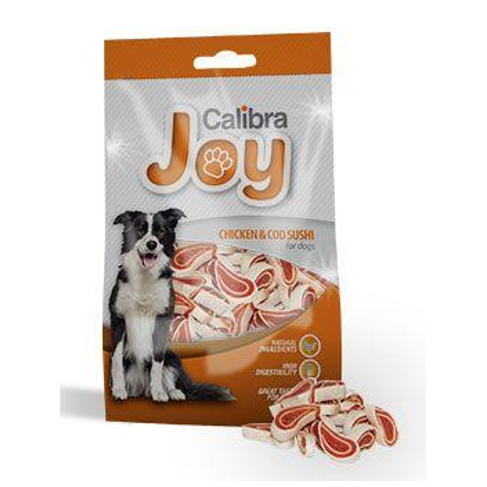 CALIBRA Joy Dog Chicken & Cod Sushi 80 g