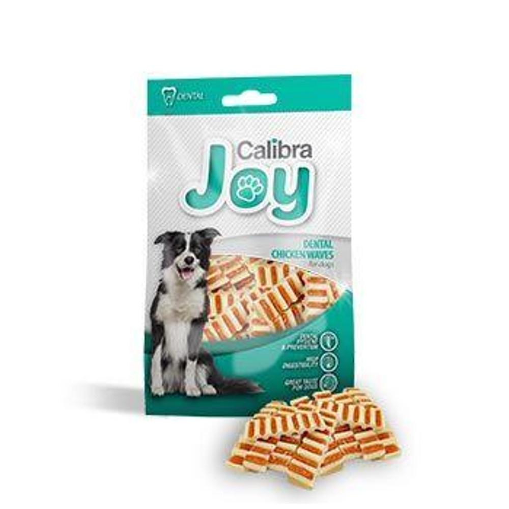CALIBRA Joy Dog Dental Chicken Waves 80 g