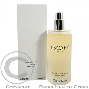 Calvin Klein Escape for men - toaletní voda ve spreji (TESTER) 100 ml