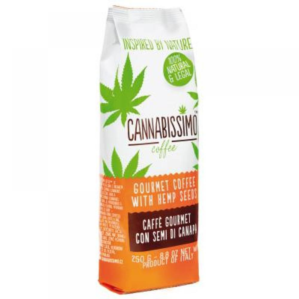 CANNABISSIMO COFFEE konopná káva mletá 250 g