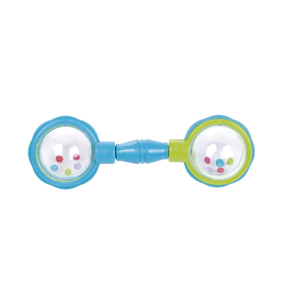 CANPOL BABIES Chrastítko míčky modré 79cfe305d0