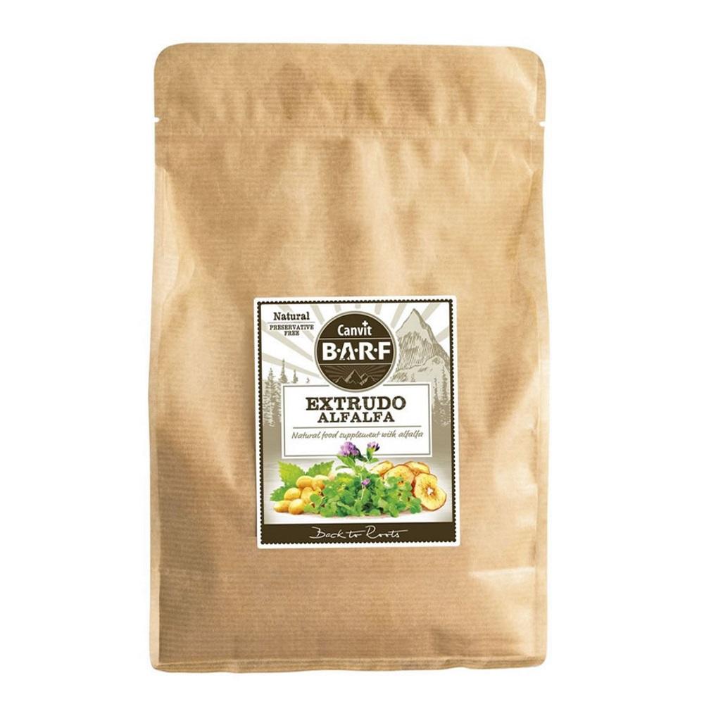 CANVIT BARF Extrudo Alfaalfa sušenky pro psy a kočky 2 kg