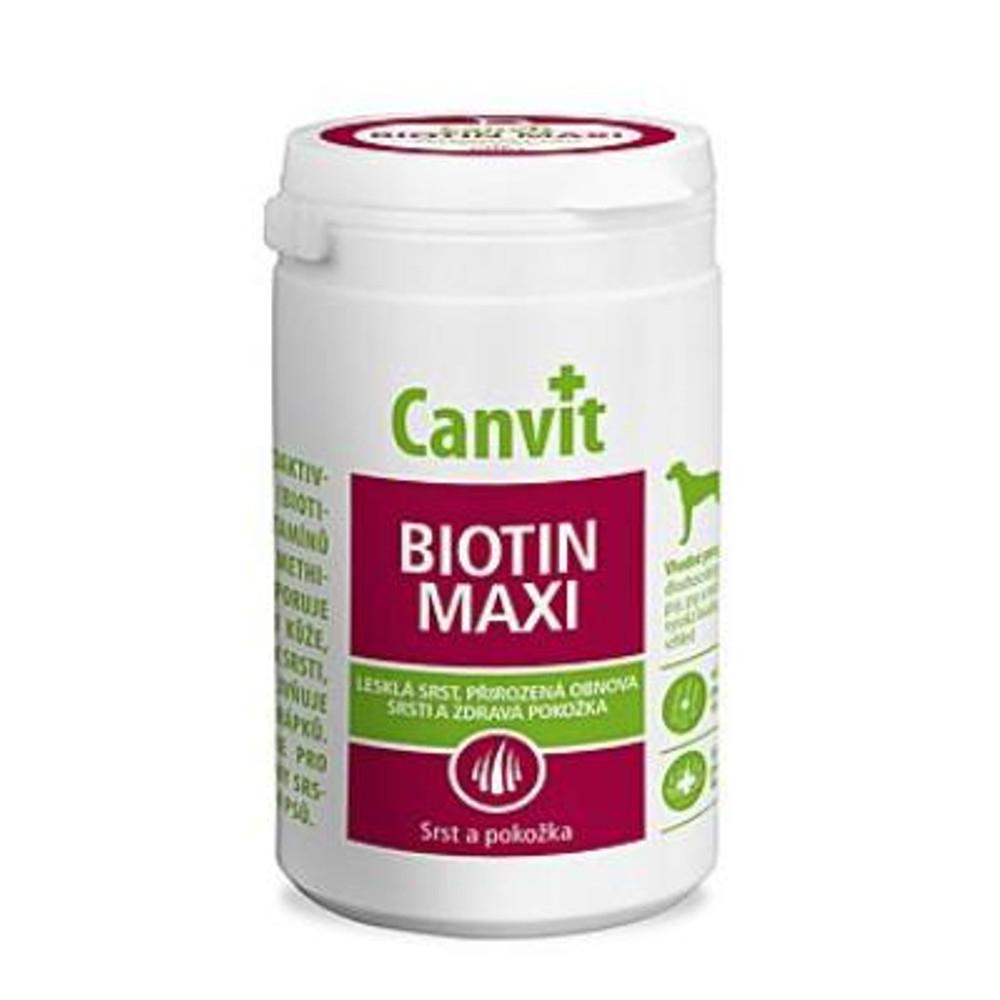 CANVIT Biotin Maxi pro psy 230 g