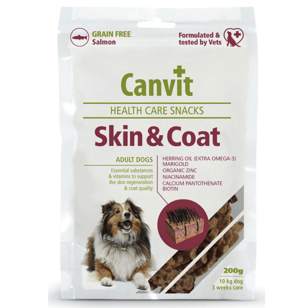 CANVIT Snacks Skin & Coat 200 g