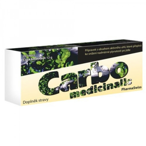CARBO MEDICINALIS 20 tablet