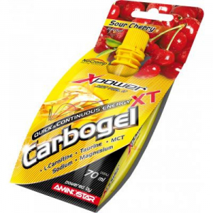 AMINOSTAR XPOWER Carbogel professional višeň 70 ml