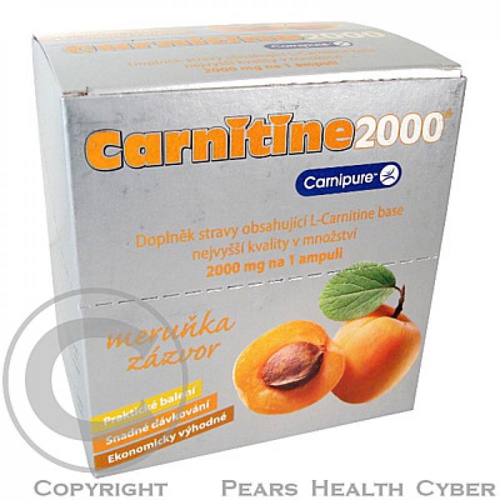 CARNITINE 2000 meruňka-zázvor ampule 20x25ml poškozený obal