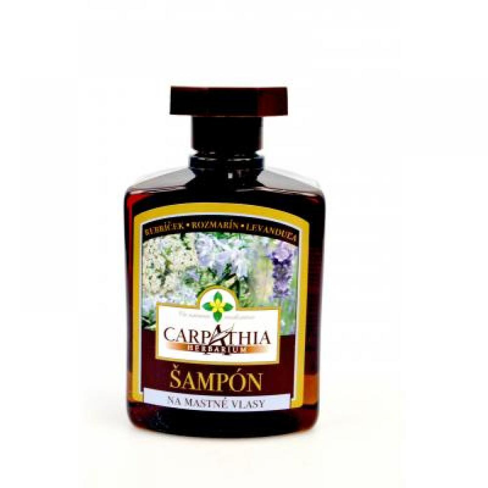 CARPATHIA šampón na mastné vlasy 300 ml