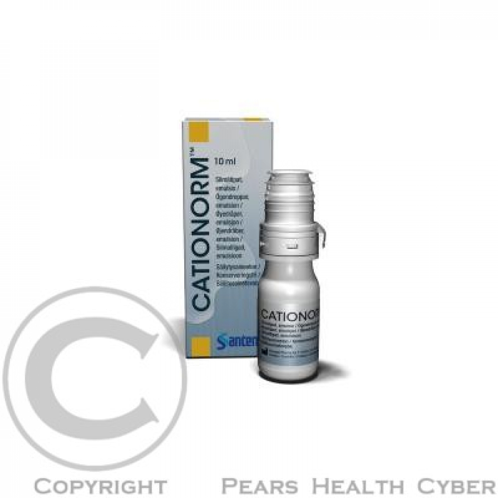 Cationorm 10 mg oční emulze
